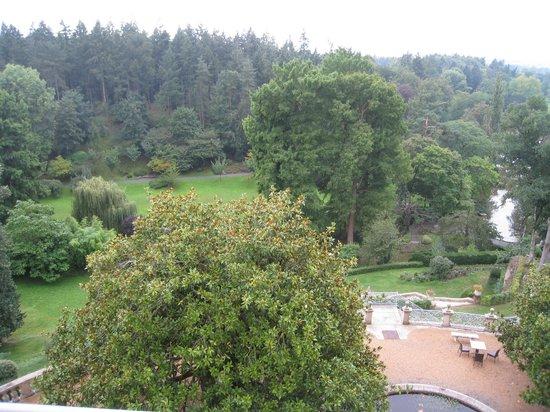 Chateau Colbert: Vue du le Parc Oriental - Chambre de charme