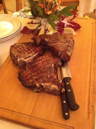Hotel Parma e Oriente: buonissima Fiorentina