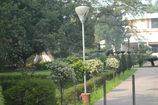Maha Raja Ranjit Singh's Statue: the statue site