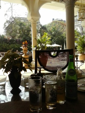 The Taj Mahal Palace: Gin&tonic in the Mumbai heat? Yes please ...