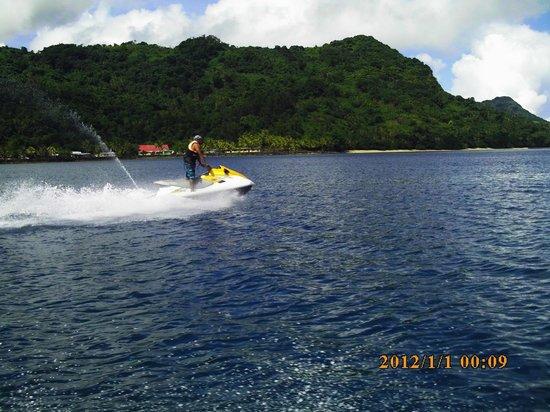 Royal Davui Island Resort: Jet Ski Tour