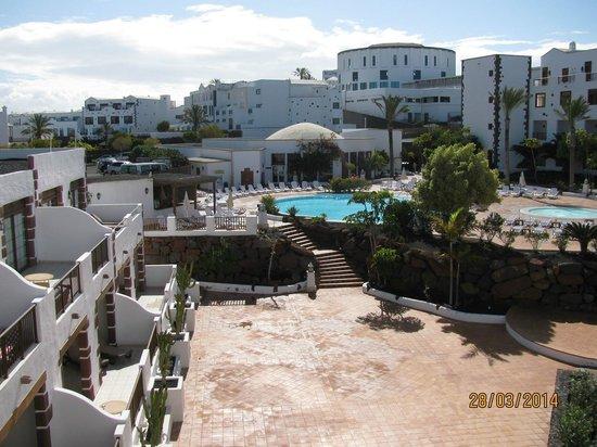 Gran Castillo Tagoro Family & Fun Playa Blanca: Partie arrière