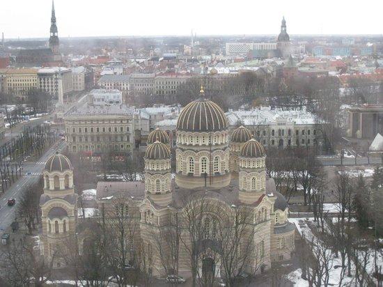 Radisson Blu Latvija Conference & Spa Hotel: Вид из окна