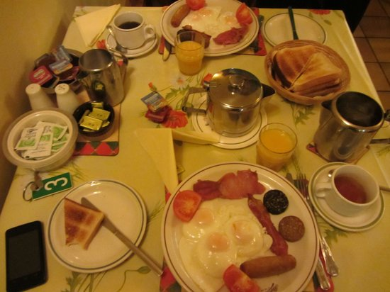 Marian Guest House: full irish breakfast