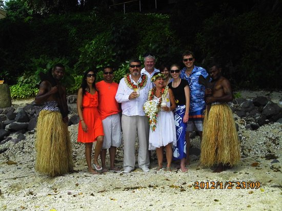 Royal Davui Island Resort: The people you meet are GREAT