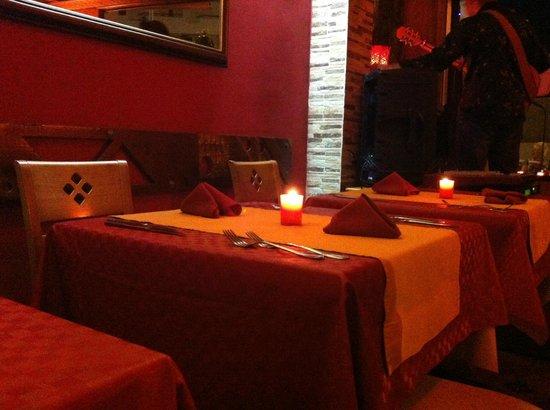 Rubina: il nostro tavolo