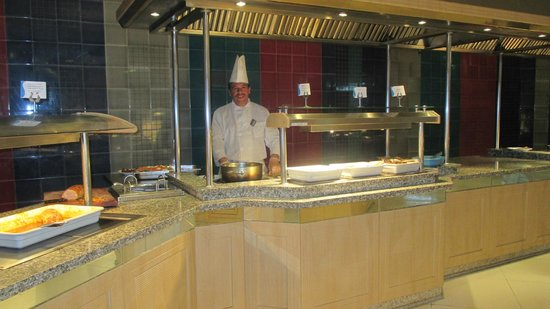Aziza Residence Thalasso Golf: cote viande le cuisinier