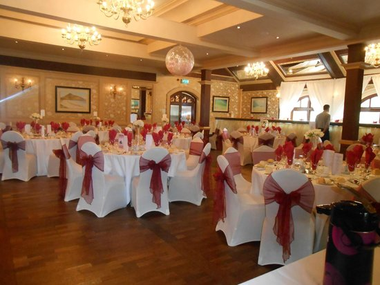 Stoneyford, UK: Wedding reception area.