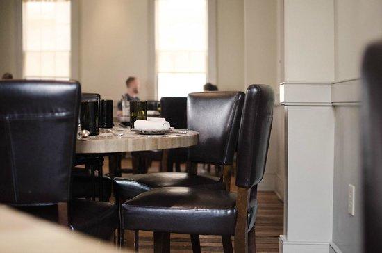 Interior picture of husk restaurant charleston