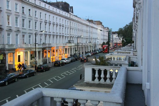 The Belgrave: View from our balcony toward Pimlico