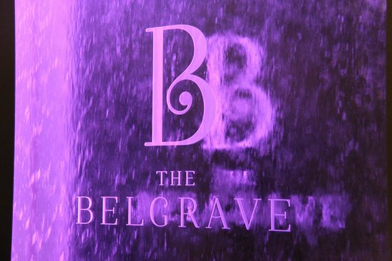The Belgrave: Behind the reception desk