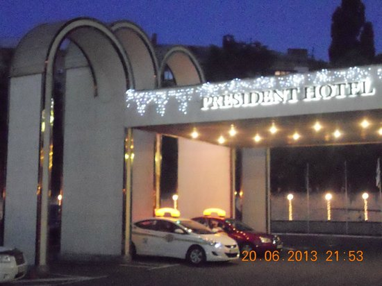 President Hotel: Главный вход