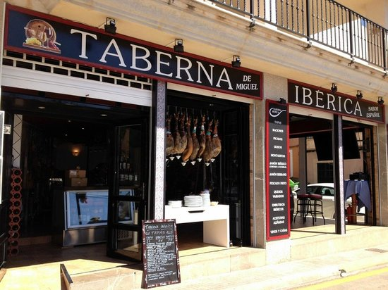 Taberna Ibérica: Entrada