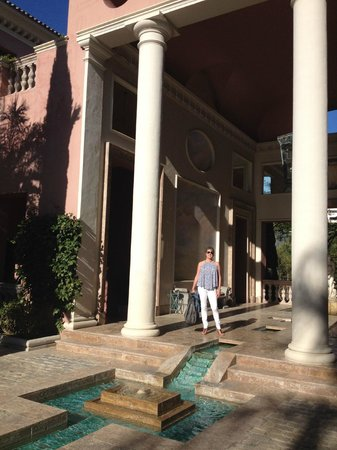 Villa Padierna Palace Hotel: Partial view from the pool