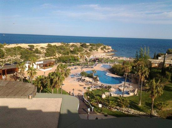 RV Hotel Ametlla Mar : vue de la chambre d hotel