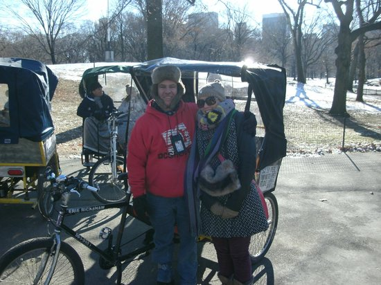 Richie's Central Park Pedicab Tours