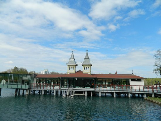 Lotus Therme Hotel & Spa: озеро Хевиз