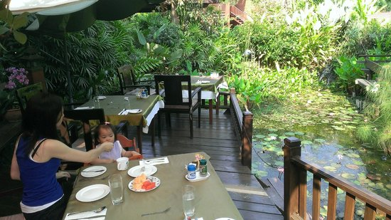 Oriental Siam Resort: Breakfast view