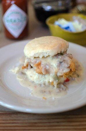 Hominy Grill: big nasty biscuit