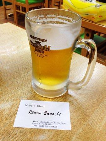 Ramen Bayashi : Suntori Premium @RamenBayashi