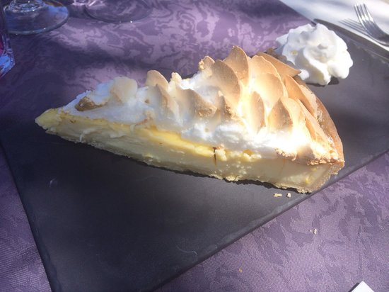 Le Continental : tarte citron meringuee