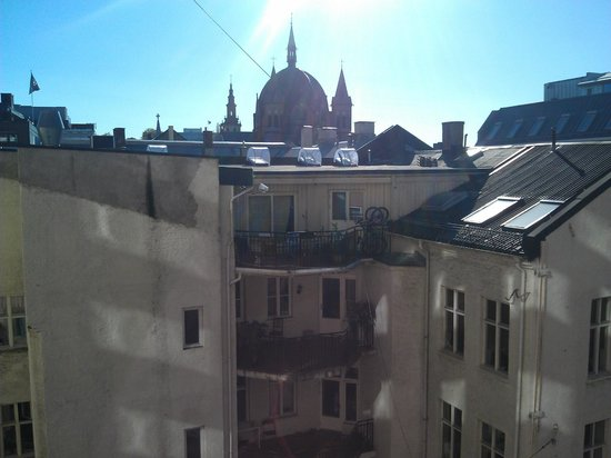 Thon Hotel Munch: вид из окна номера