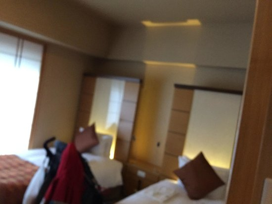 Hotel Niwa Tokyo : The hotel room