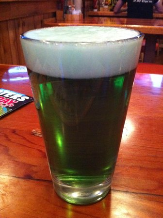 Hooters: St Patrick day beer
