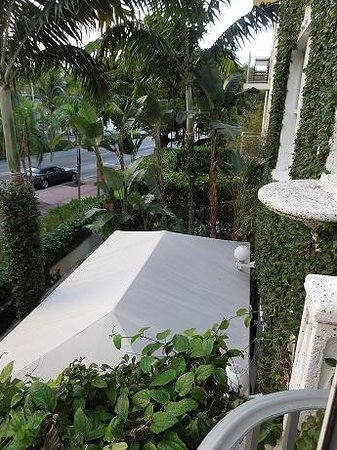 Angler's Miami South Beach, a Kimpton Hotel: View from our room towards the street