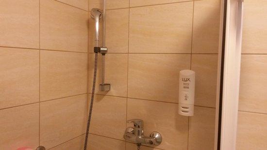 Hotel Wodnik: Prysznic...