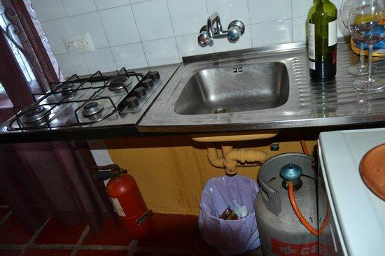 Apartamentos San Anton: fregadero