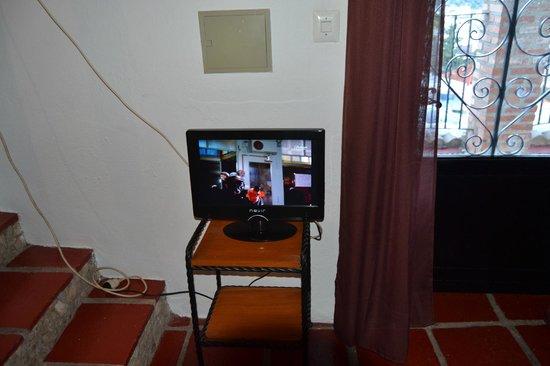 Apartamentos San Anton: tv