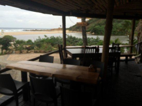 Blue Lagoon Restaurant : Lagoon view