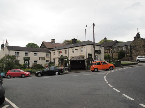 The Wortley Arms: tea rooms behind the pub