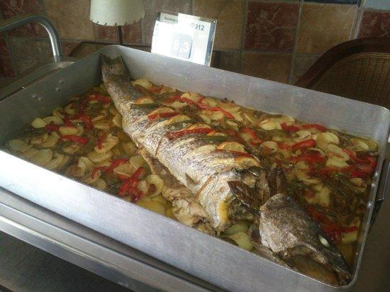 Restaurante Carmen: Pescados al horno