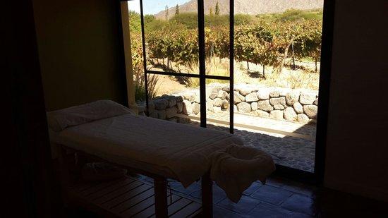 Altalaluna Hotel Boutique & Spa : Heated massage room