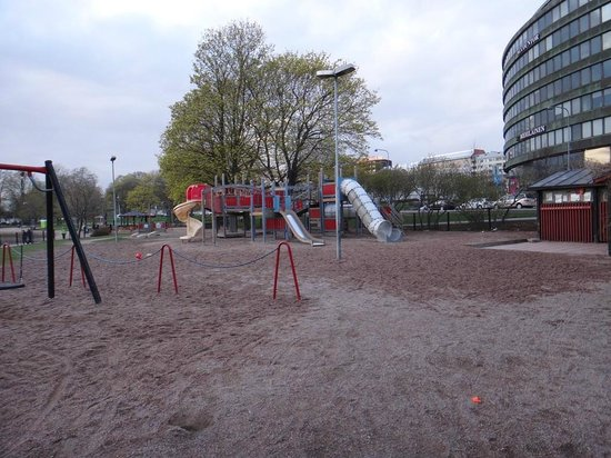 Scandic Paasi: Playground not far from the hotel