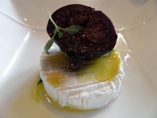 LES SAVEURS DE PROVENCE : l'assiette de fromage de Rocamadour