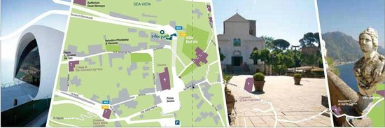 A Due Passi: a few steps from the XIIth-century Cathedral and from the famous Villa Cimbrone & Villa Rufolo..