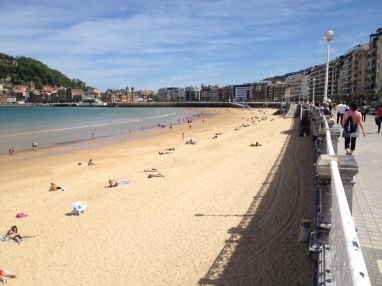 La Concha Beach : пляж