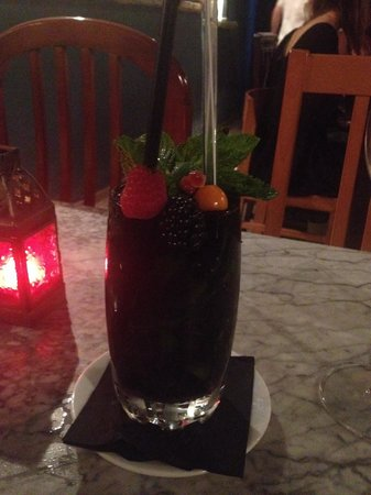 Cera 23: Blackberry mojito - best I've ever had.