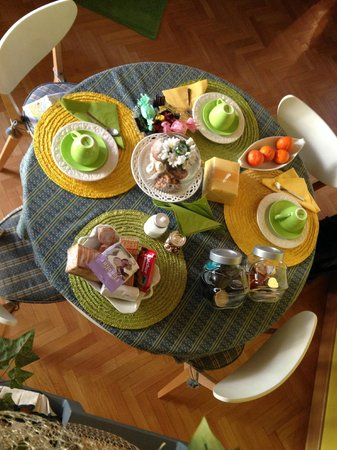 Casa Pariolina: colazione