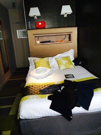 Bellevue: petite chambre mais jolie déco