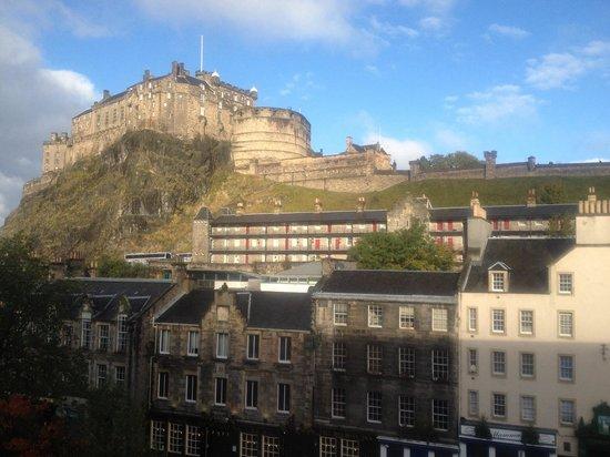 Apex City of Edinburgh Hotel: Zimmeraussicht