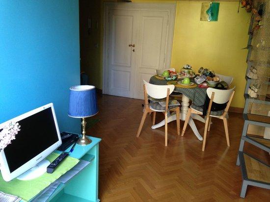 Casa Pariolina: soggiorno