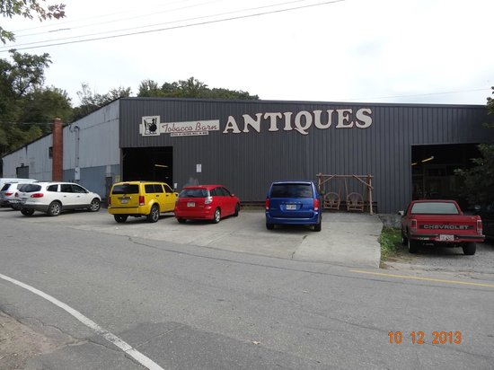 Antique Tobacco Barn, Asheville, NC