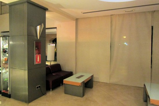 Vertice Sevilla: ホテルのロビー