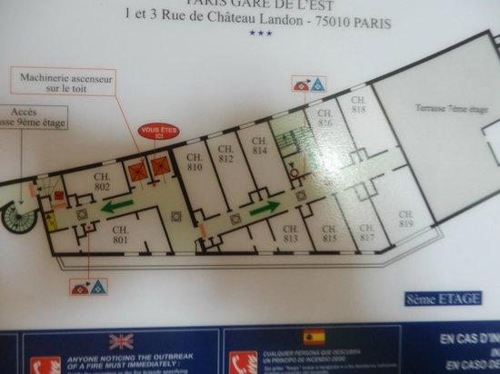 Ibis Styles Paris Gare de l'Est Chateau Landon: room 813