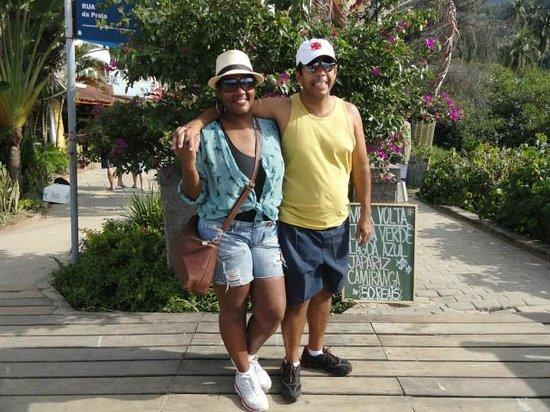 Yes Hotel Pousada: Localização de fácil acesso ao Centro da Vila do Abraão