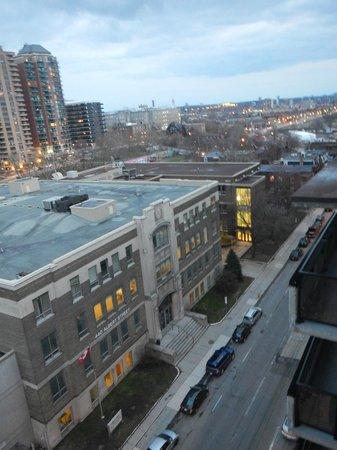 Albert at Bay Suite Hotel: La vue du toit- terrasse